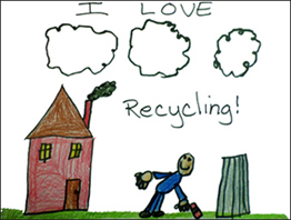 Carnegie Borough Recycling Posters